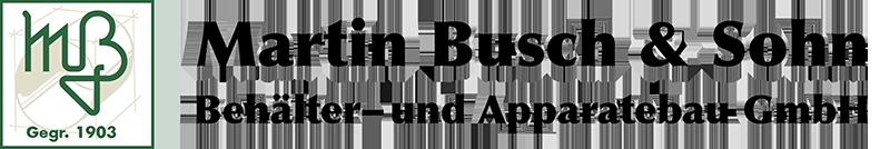 Datenschutz | Martin Busch & Sohn GmbH in 46514 Schermbeck